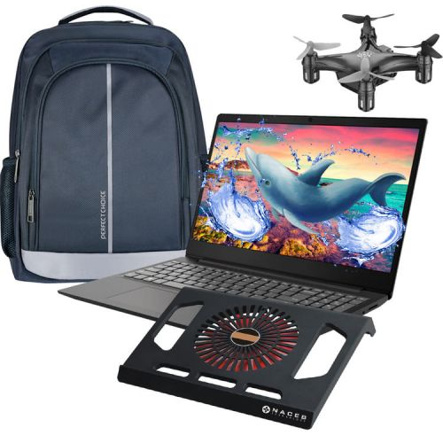 Laptop Lenovo S145 Amd A6 9225 Radeon Hdd 500GB 4GB + Drone - Mochila - Coolpad