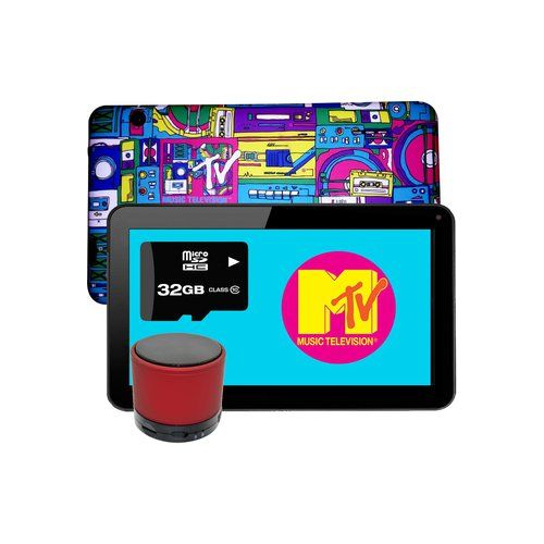 "Tablet Vulcan 7"" Edición MTV 8Gb 1Gb Ram Intel Atom Dual Core + KIT BOCINA + SD 32 GB"