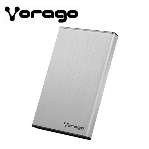 CASE ENCLOSURE VORAGO 201 USB 3.0 HDD PLATA