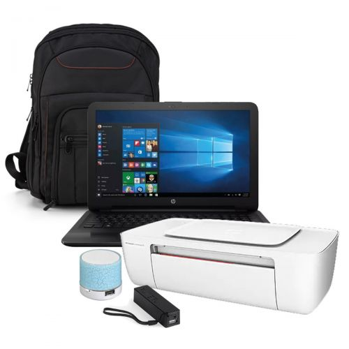 "Laptop HP Notebook 15-BA057nr A8-7410 HDD 1TB RAM  4GB 15.6"" Negro + KIT"