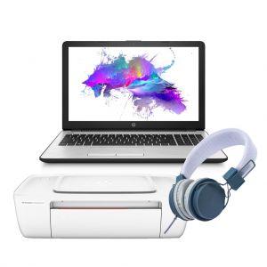 Laptop Hp 15 I3 7100u Hdd 1tb Ram 4gb W10 + Impresora y audifonos