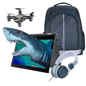 REACONDICIONADO Laptop Acer 2 en 1 Touch Core i3 8va Touch SSD 256GB + Drone - Mochila - Diadema