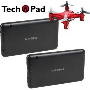 Combo! 2 Tablet TechPad i700 8GB + Drone - Gris