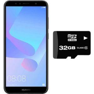 Celular Huawei Y6 2018 16GB + Micro SD 32GB Dual Sim Negro