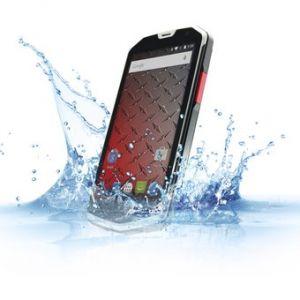 "Celular Android 8gb 4.5"" Resistente Al Agua Dual Sim H450r- Gris"