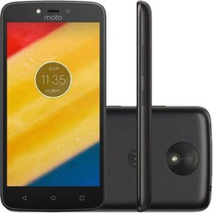 Motorola Moto C 8GB Dual Sim - Negro