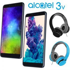 Combo!! 2 en 1 Celular Alcatel 3V 5099-A 16GB + Diadema de regalo