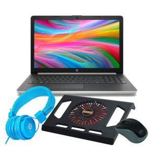 Laptop HP 15-db0031nr Dual Core AMD A9-9425 |DDH 1Tb| RAM 4GB|DVD + KIT