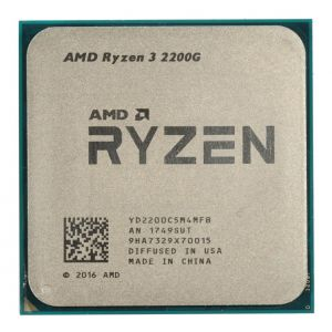 Procesador AMD Ryzen 3 2200G 4 núcleos 68.7 GB Ryzen 3 2200G