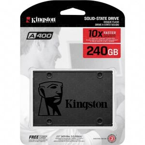 "UNIDAD SSD KINGSTON 240GB SATA 3 2.5"" UV400 550/490/MB/S"