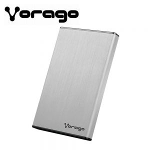 CASE ENCLOSURE VORAGO 201 USB 3.0 HDD PLATA