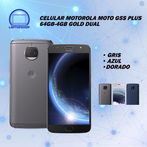 CELULAR MOTOROLA MOTO G5S PLUS 64GB-4GB DUAL ADAP 2P