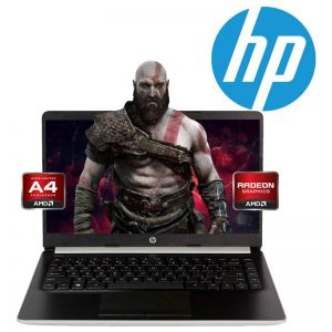 Laptop Hp 14-DK0053OD A4-9125 Ssd 64gb 4gb Radeon R3 W10 - Plata REACONDICIONADO