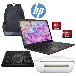 Laptop HP 255 G7 15.6 AMD A6-9225 8GB 256 GB SSD + KIT - Negro