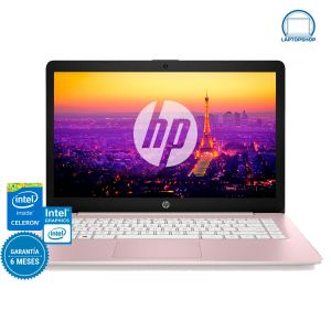 Laptop Hp Stream 14 Intel Celeron 64gb Ram 4gb- Rosa