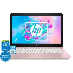 Laptop Hp Stream 14 Intel Celeron 64gb Ram 4gb- Rosa