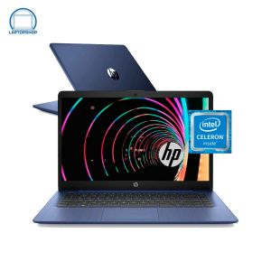 Laptop Hp Stream 14 Intel Celeron 64gb Ram 4gb- Azul