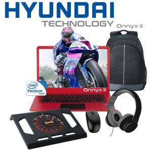 Laptop Hyundai Onnyx II Intel Quad Core 14.1'' 500GB 4gb + combo