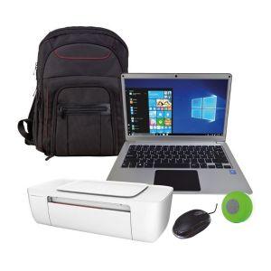 Laptop Hyundai 13 Plata Intel Inside Hdd 32gb Ram 4gb W10 + Kit