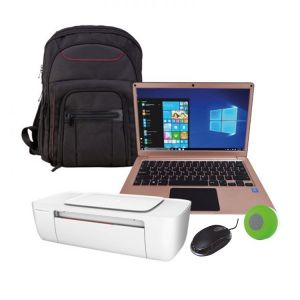 Laptop Hyundai 13 Rosa Intel Inside Hdd 32gb Ram 4gb W10 + Kit