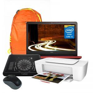 Laptop Dell Inspiron Core I5 Hdd 1tb Ram 6gb Roja + Kit
