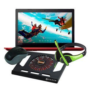 "Laptop Lenovo Ideapad 330 CI3-8130u Hdd 1tb Ram 4gb 15.6"" + kit - Rojo"