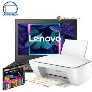 """LAPTOP CHROMEBOOK LENOVO 100E A4-9120C 32GB-4GB BLACK 11.6"""" + KIT"""