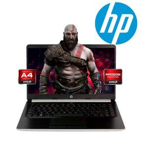 Laptop Hp 14-DK0053OD A4-9125 Ssd 64gb 4gb Radeon R3 W10 - Plata