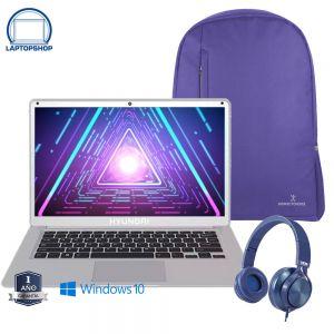 Laptop Hyundai Thinnote A Intel Apollo Lake N3350 64GB-4GB + Kit