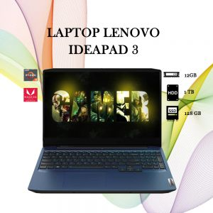 LAPTOP LENOVO IDEAPAD 3 RYZEN3 12GB-1TB+128GB SSD