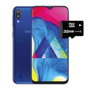 Celular Samsung Galaxy M10 16GB+2GB + Micro SD 32Gb Azul