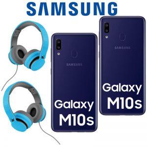 COMBO!! Samsung Galaxy M10s 32GB 3GB Dual Sim + Audifonos - Azul