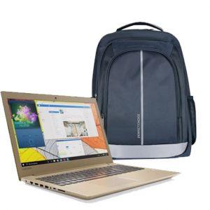 Laptop Lenovo 520 Intel Core I7 8550u Hdd 2tb Ram 8gb Golden Win10 Home + Kit