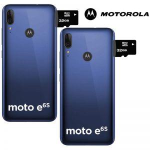 Oferta! 2x1 Celular Motorola Moto E6 S 64GB Dual Sim + Micro SD 32gb