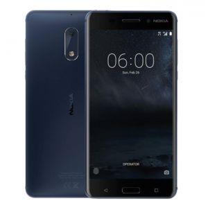 Celular Nokia 6 Android Lte 5.5 Fhd 32gb Cámara 16mp -azul