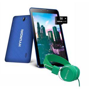 Tablet Hyundai Koral 7w3x 16gb Android 8 3g + KIT - Azul