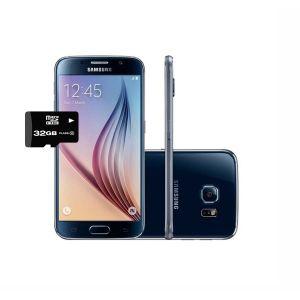 Samsung Galaxy S6 32gb Ram 3gb Negro + Micro SD 32 GB