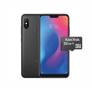 XIAOMI REDMI NOTE 6 PRO 32GB/3GB DUAL NEGRO + MICRO SD 32GB