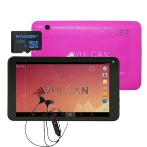 Tablet Vulcan Pulse 7 8gb 1gb Ram Quad Core + Kit - Rosa