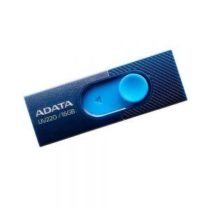 MEMORIA ADATA 16GB USB 2.0 UV220 RETRACTIL AZUL MARINO-AZUL
