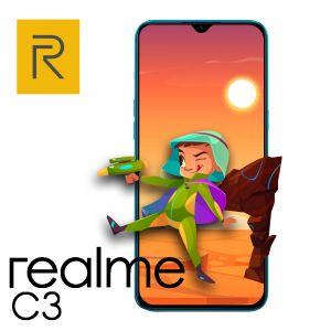 CELULAR REALME C3 32GB-2GB AZUL DUAL SIM ADAP 2P
