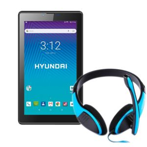 Tablet Hyundai Koral 7w3x 16gb Android 8 3g + Audifono