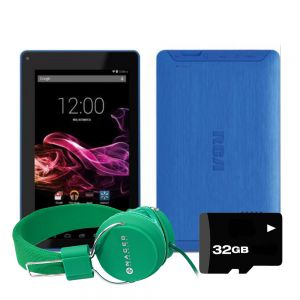 Tablet Rca Voyager 7 Android 16gb Quad-core + Kit - Azul