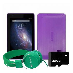 Tablet Rca Voyager 7 Android 16gb Quad-core + Kit - Morada