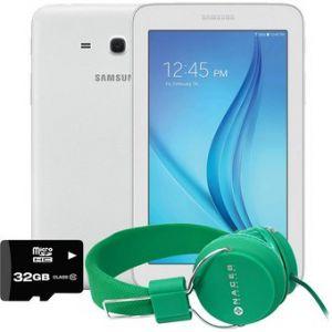 Tablet Samsung Galaxy Tab3 Lite 8+32GB Quad Core + Diadema + Micro sd 32 GB
