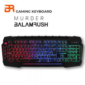 TECLADO GAMER BALAM RUSH MURDER USB LED3