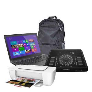 LAPTOP TOSHIBA SAT C75D-A7370 AMD A6 8GB RAM HDD 1TB  + KIT