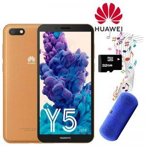 Celular Huawei Y5 2018 16GB Dual Sim + Bocina y Micro SD 32GB Café