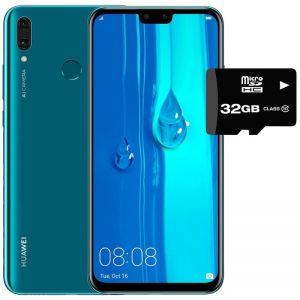 Celular Huawei Y9 2019 64gb Dual Sim - Azul + SD 32GB