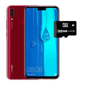 Celular Huawei Y9 2019 64gb 4Gb Ram Dual Sim - ROJO + SD 32GB